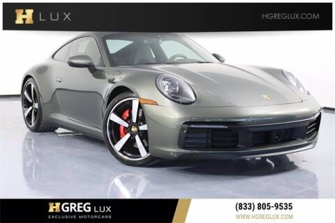 2020 Porsche 911 for sale at HGREG LUX EXCLUSIVE MOTORCARS in Pompano Beach FL