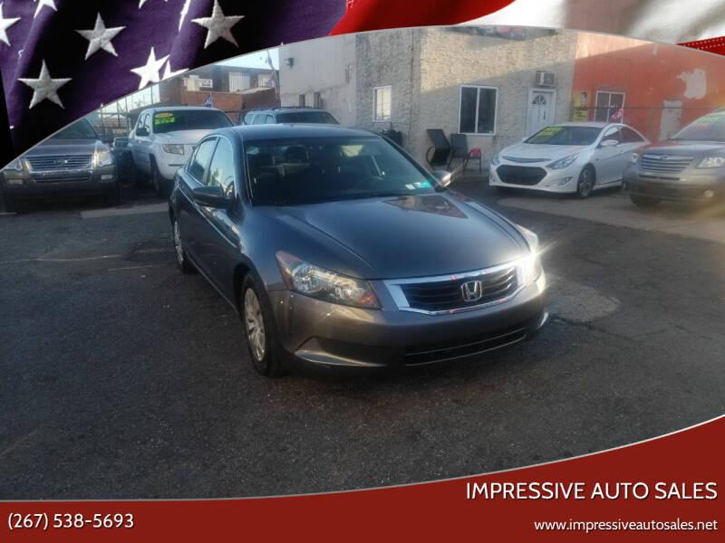 2010 Honda Accord for sale at Impressive Auto Sales in Philadelphia PA
