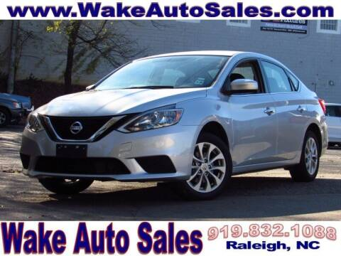2019 Nissan Sentra for sale at Wake Auto Sales Inc in Raleigh NC