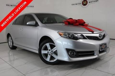 2014 Toyota Camry for sale at INDY'S UNLIMITED MOTORS - UNLIMITED MOTORS in Westfield IN
