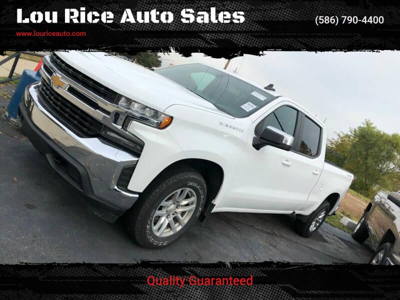 2019 Chevrolet Silverado 1500 for sale at Lou Rice Auto Sales in Clinton Township MI