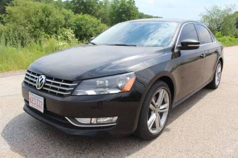 2014 Volkswagen Passat for sale at Imotobank in Walpole MA