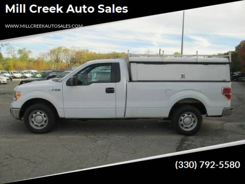 2013 Ford F-150 for sale at Mill Creek Auto Sales in Youngstown OH
