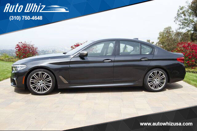 2018 BMW 5 Series for sale at Auto Whiz in Rancho Palos Verdes CA