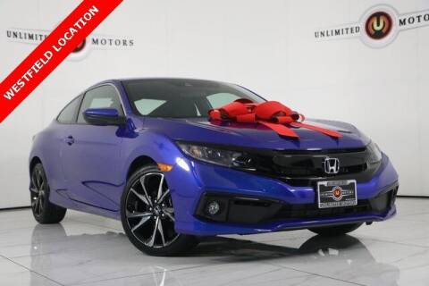 2019 Honda Civic for sale at INDY'S UNLIMITED MOTORS - UNLIMITED MOTORS in Westfield IN