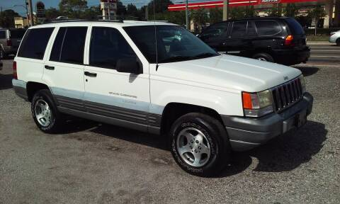 1997 Jeep Grand Cherokee for sale at Pinellas Auto Brokers in Saint Petersburg FL