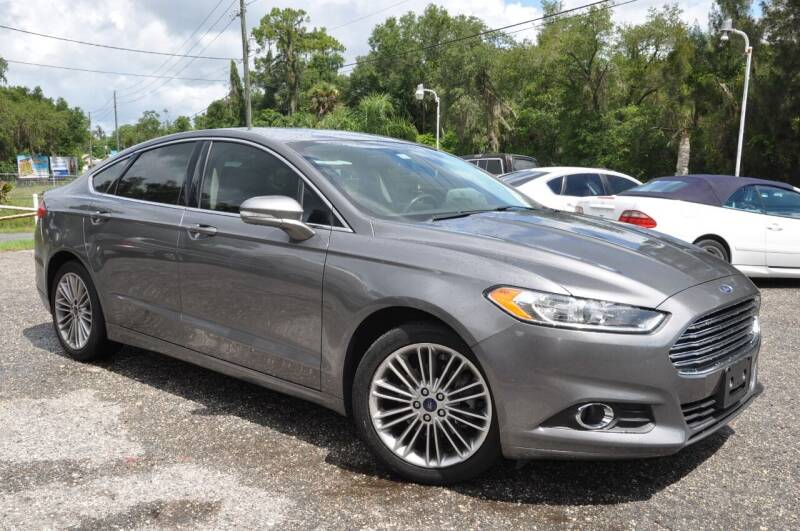 2014 Ford Fusion for sale at Elite Motorcar, LLC in Deland FL