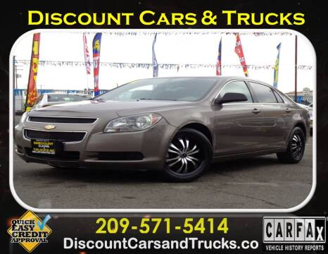 2011 Chevrolet Malibu for sale at Discount Cars & Trucks in Modesto CA