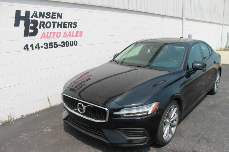 2019 Volvo S60 for sale at HANSEN BROTHERS AUTO SALES in Milwaukee WI
