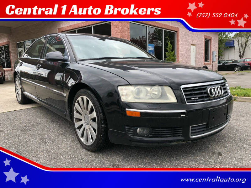 2005 Audi A8 L for sale at Central 1 Auto Brokers in Virginia Beach VA
