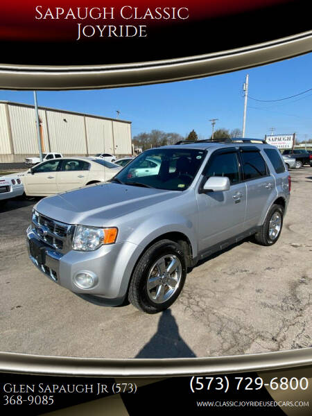 2012 Ford Escape for sale at Sapaugh Classic Joyride in Salem MO