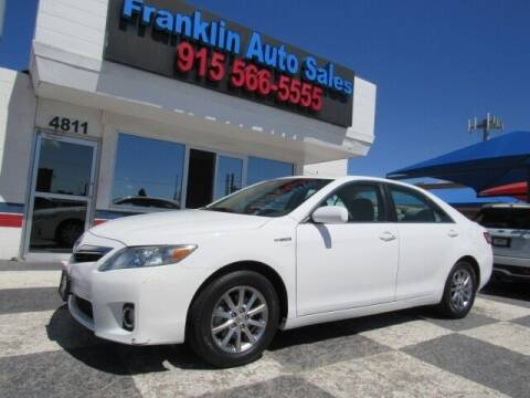 2011 Toyota Camry Hybrid for sale at Franklin Auto Sales in El Paso TX