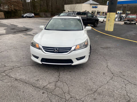 2015 Honda Accord for sale at BRAVA AUTO BROKERS LLC in Clarkston GA