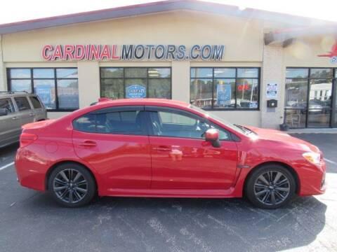 2017 Subaru WRX for sale at Cardinal Motors in Fairfield OH