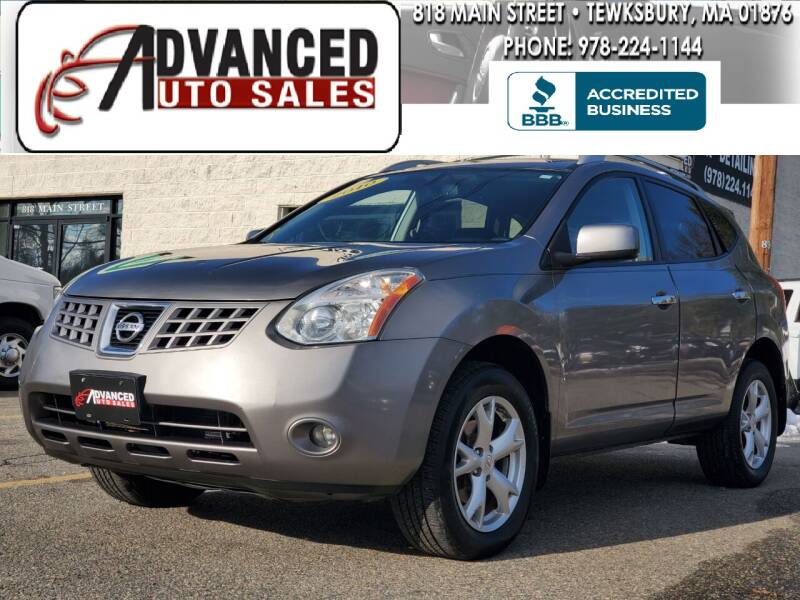 2010 Nissan Rogue for sale at Advanced Auto Sales in Tewksbury MA