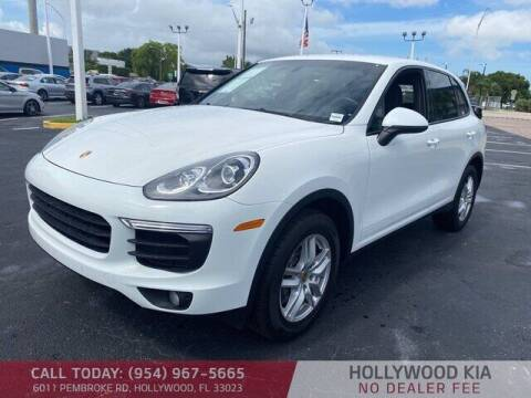 2018 Porsche Cayenne for sale at JumboAutoGroup.com in Hollywood FL