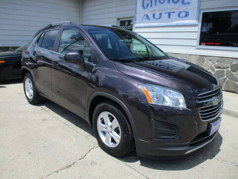 2016 Chevrolet Trax for sale at Choice Auto in Carroll IA