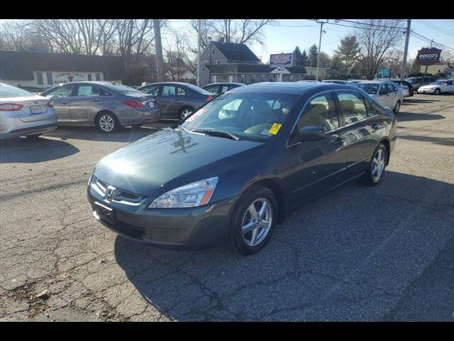 2004 Honda Accord for sale at Colonial Motors in Mine Hill NJ