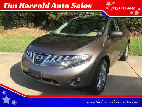 2010 Nissan Murano for sale at Tim Harrold Auto Sales in Wilkesboro NC