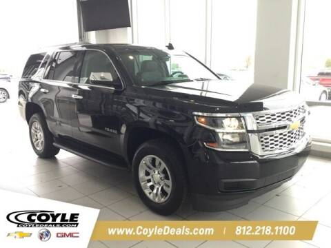 2017 Chevrolet Tahoe for sale at COYLE GM - COYLE NISSAN - Coyle Nissan in Clarksville IN