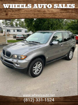 2006 BMW X5 for sale at Wheels Auto Sales in Bloomington IN