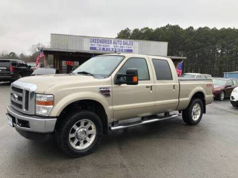 2010 Ford F-250 Super Duty for sale at Greenbrier Auto Sales in Greenbrier AR