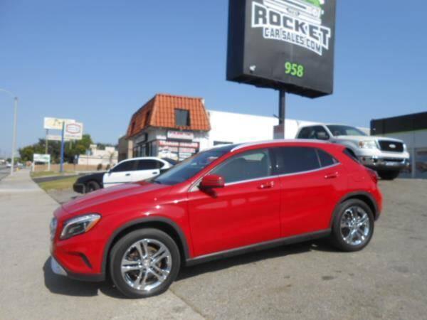 2015 Mercedes-Benz GLA for sale at Rocket Car sales in Covina CA
