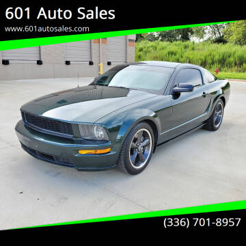 2009 Ford Mustang for sale at 601 Auto Sales in Mocksville NC