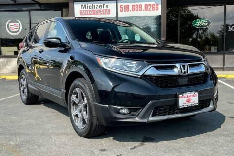 2018 Honda CR-V for sale at Michaels Auto Plaza in East Greenbush NY