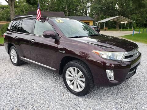 2012 Toyota Highlander Hybrid for sale at Darwin Harris Automotive in Fairhope AL