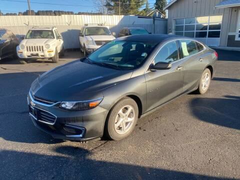 2018 Chevrolet Malibu for sale at Vista Auto Sales in Lakewood WA