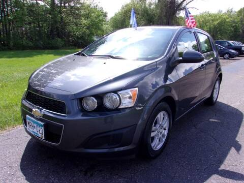 2013 Chevrolet Sonic for sale at American Auto Sales in Forest Lake MN