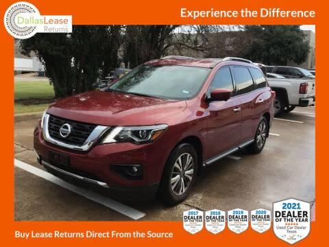 2019 Nissan Pathfinder for sale at Dallas Auto Finance in Dallas TX