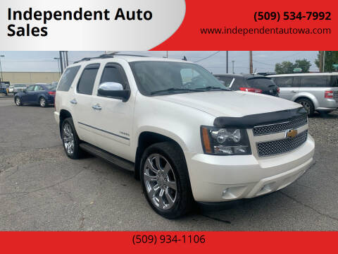 2010 Chevrolet Tahoe for sale at Independent Auto Sales #2 in Spokane WA