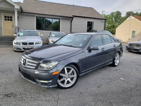 2013 Mercedes-Benz C-Class for sale at M & A Motors LLC in Marietta GA