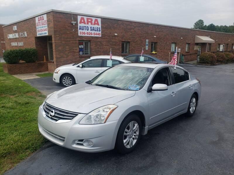 2011 Nissan Altima for sale at ARA Auto Sales in Winston-Salem NC