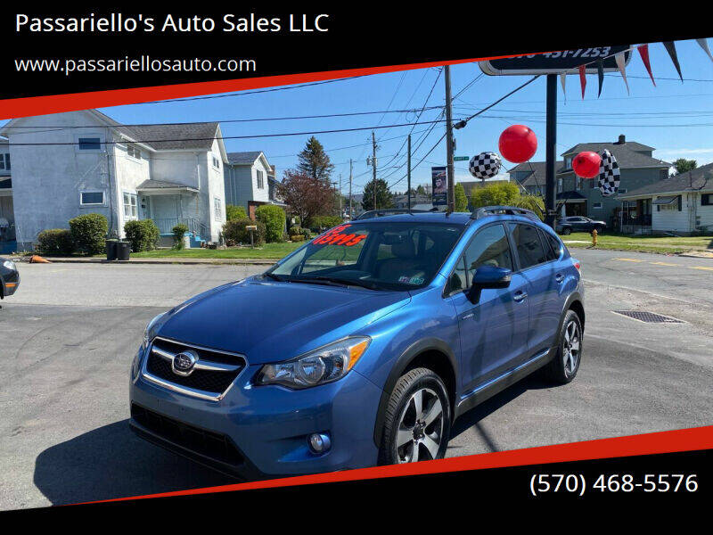 2015 Subaru XV Crosstrek for sale at Passariello's Auto Sales LLC in Old Forge PA