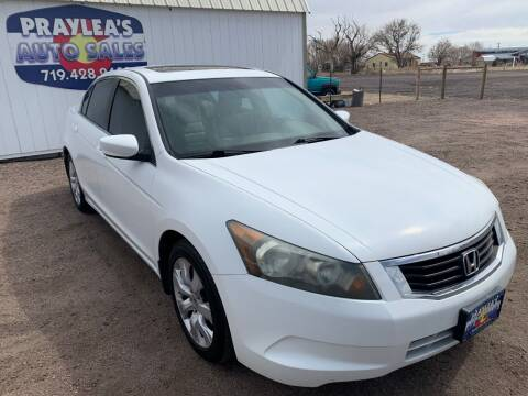2008 Honda Accord for sale at Praylea's Auto Sales in Peyton CO