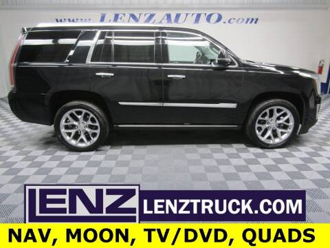 2017 Cadillac Escalade for sale at LENZ TRUCK CENTER in Fond Du Lac WI