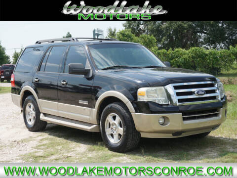 2007 Ford Expedition for sale at WOODLAKE MOTORS in Conroe TX