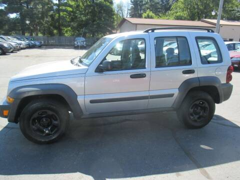 2007 Jeep Liberty for sale at Home Street Auto Sales in Mishawaka IN