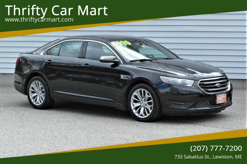 2014 Ford Taurus for sale at Thrifty Car Mart in Lewiston ME