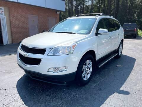 2012 Chevrolet Traverse for sale at Magic Motors Inc. in Snellville GA