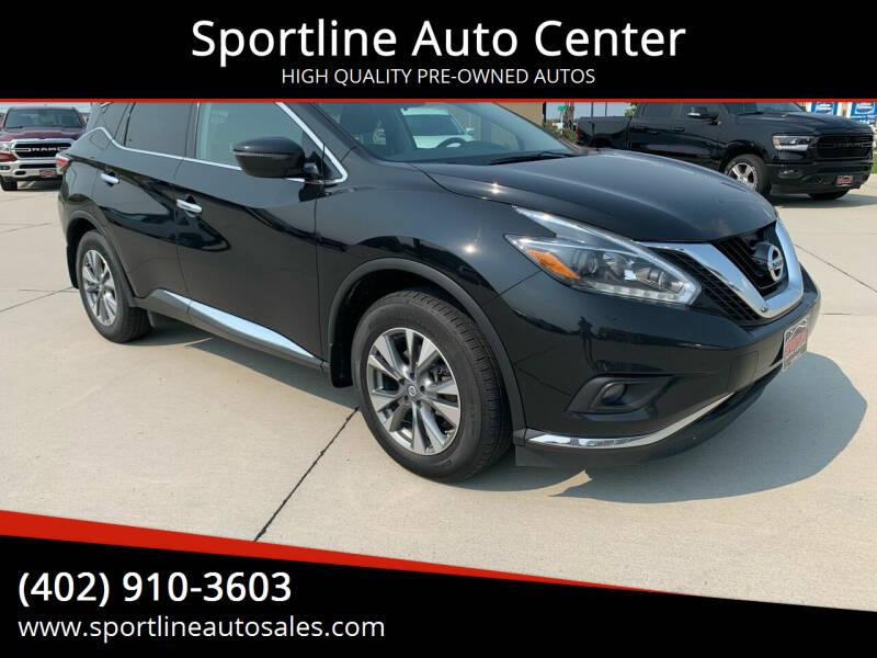2018 Nissan Murano for sale at Sportline Auto Center in Columbus NE