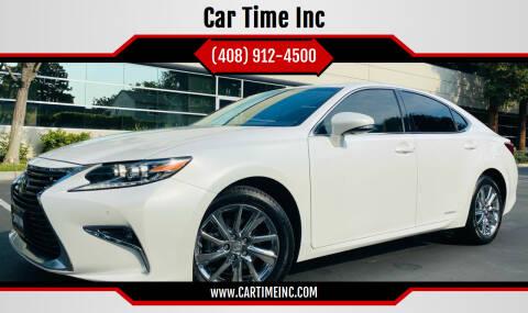 2016 Lexus ES 300h for sale at Car Time Inc in San Jose CA