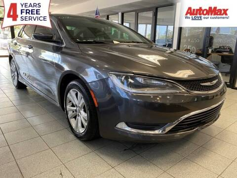 2016 Chrysler 200 for sale at Auto Max in Hollywood FL