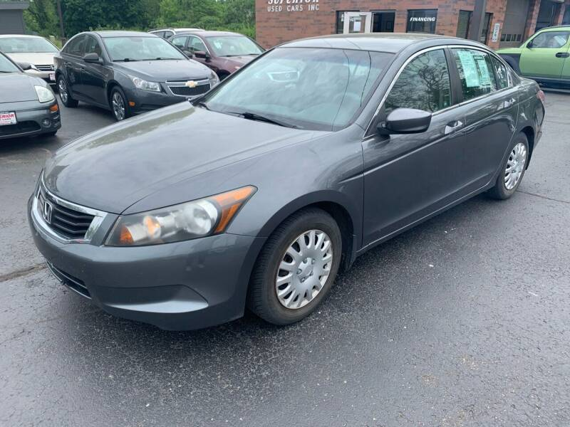 2009 Honda Accord for sale at Superior Used Cars Inc in Cuyahoga Falls OH