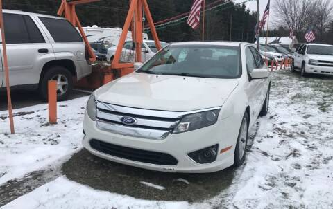 2012 Ford Fusion for sale at CARS R US in Caro MI