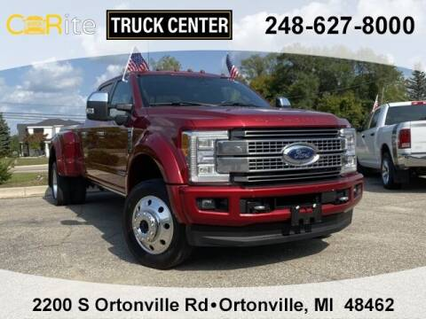 2018 Ford F-450 Super Duty for sale at Carite Truck Center in Ortonville MI