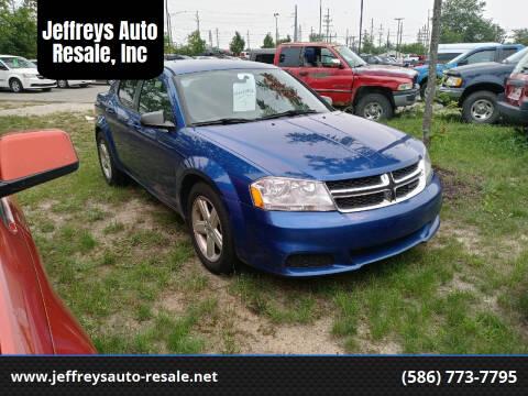 2013 Dodge Avenger for sale at Jeffreys Auto Resale, Inc in Clinton Township MI